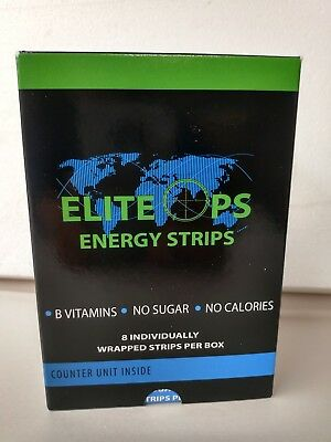 ELITE OPS ENERGY STRIPS / 48 STRIPS-6 BOXES OF 8 STRIPS -Same as Sheets formula