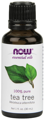 NOW Foods Tea Tree 1 oz Essential Oil for Diffuser