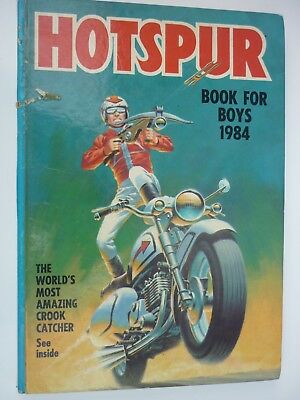 Hotspur Book for Boys Annual 1984 - Unclipped