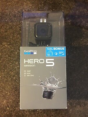 GoPro HERO5 Bundle 4K Waterpoof Action Camera w/ WiFi Voice Control Headstrap