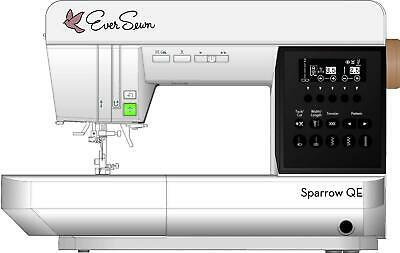 EverSewn Sparrow QE - Professional Sewing and Quilting Machine, White