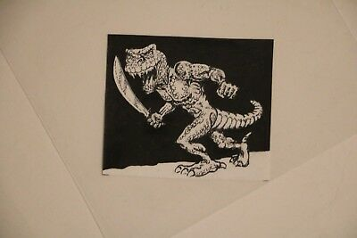 ORIGINAL FIGHTING FANTASY ART - Out of the Pit - Ian Livingstone