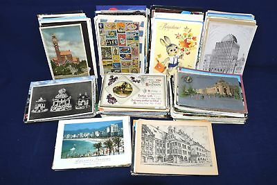 Huge Old Time Collection of 493 Picture Postcard Lot All Scanned