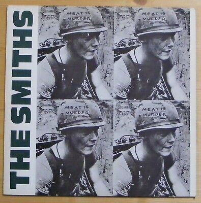 The Smiths - Meat Is Murder Rough 81 (1985) - Original Picture Liner And Insert
