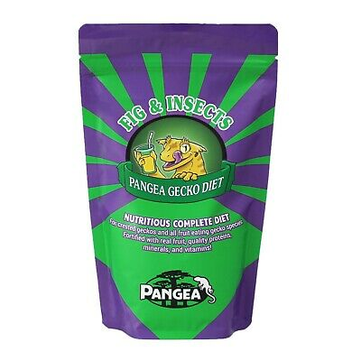 Pangea Fruit Mix Fig & Insects Gecko Diet With Free US Shipping