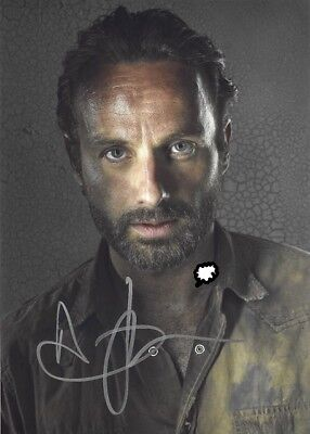 Autogramm  The Walking Dead - Andrew Lincoln  - 10x15cm 04)