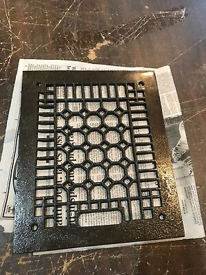 D 39 antique honeycomb grate face plate 9.75 x 11.75