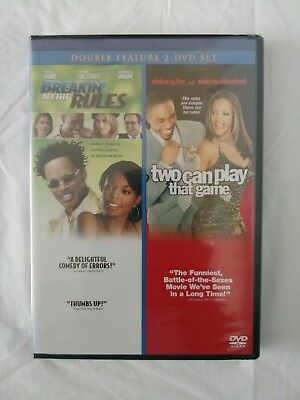Breakin all the Rules Two Can Play that Game DVD Full Screen Double Feature New