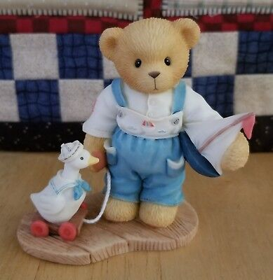 NEW SIGNED Cherished Teddies - Alex - Cherish The Little Things
