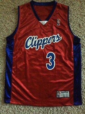 7916b2e7bfbb CHRIS PAUL Los Angeles Clippers Jersey YOUTH XL Adult Small RED  3 Awesome