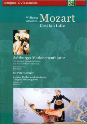 Various Artists-Mozart Cosi Fan Tutte. (Performed By The Salzburg Mari Dvd Nuovo
