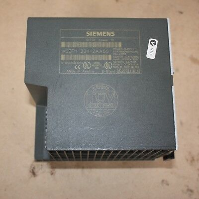 Siemens 6EP1334-2AA00 SITOP Power 10 In: 120/230V 5.5/3.2A Out: DC24V/10A PLC