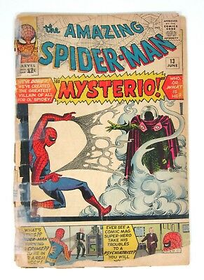 Amazing Spider-Man #13 First Appearance of Mysterio Marvel Comics First Print