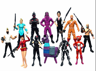 Fortnite Character Toy Game Action Figure Playset Model Gift Collection+ Weapons