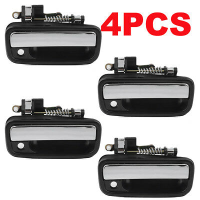4pcs Outside Exterior Door Handle Left Right 1995-2004 for Toyota for Tacoma BE