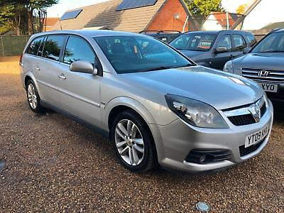 2009 Vauxhall Vectra 1.9CDTi 16v (150ps) SRi + FULL MOT 01/11/2019