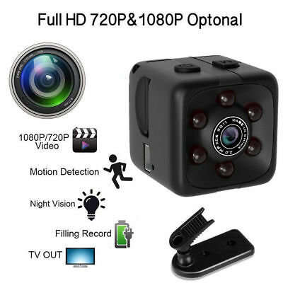 Mini Camera SQ11 Full HD 1080P Camcorder Spy Cameras with Night Vision & Motion