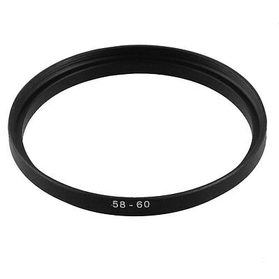 58mm-60mm 58mm to 60mm  58 - 60mm Step Up Ring Filter Adapter for Camera Lens