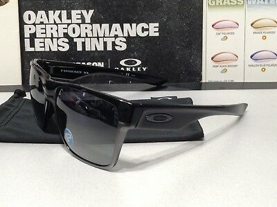 dfd9d8cab6c Oakley TwoFace XL Polished Black w  Black Iridium Polarized - SKU  9350-01