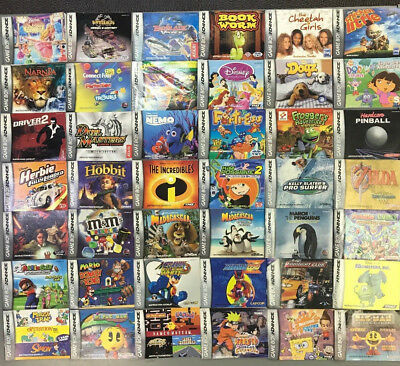 Lot of 66 Nintendo Game Boy Advance Instruction Booklet Manuals Only
