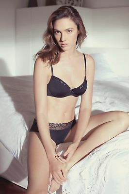 GLOSSY PHOTO PICTURE 8x10 Gal Gadot Posing With Black Lingerie