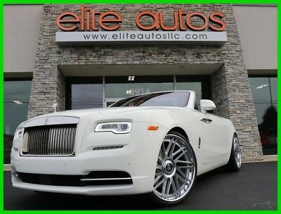 2018 Rolls-Royce Dawn  2018 Rolls-Royce Dawn LOADED Convertible Red Interior BESPOKE AUDIO Turbo V12