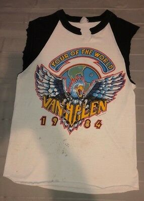 VAN HALEN Tour of the World 1984 Concert T-Shirt