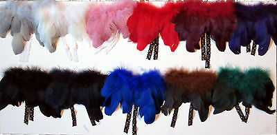 Christmas Angel Wings 11 Color Choices For  Beanies Bears Dolls w/ Lace Ties