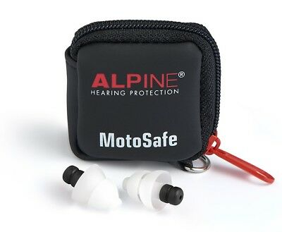 Alpine Motosafe Tour ou Race Bouchons D'Oreilles Moto Protection Auditive