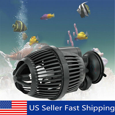 800 GPH 3000L/H Circulation Pump Wave Maker Aquarium Powerhead Suction Cup Mount