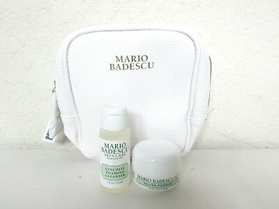 JEST Silver Powder Source · 2PC Mario Badescu Glycolic Foaming Cleanser & Silver Powder Skincare Set
