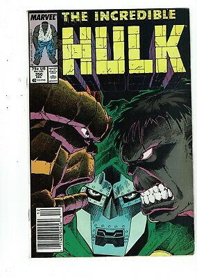 Incredible Hulk #350, FN 6.0, Thing, Dr. Doom