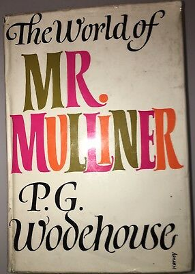 The World Of Mr Mulliner By P. G. Wodehouse 1972 First Pub/Ed