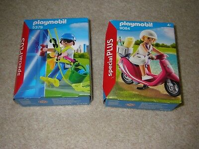 Playmobil Scotter, Window Cleaner,  New