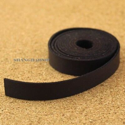 DIY Faux Leather Strap for Wrist Shoulder Bag Raw Edge Replacement 12mm 120cm