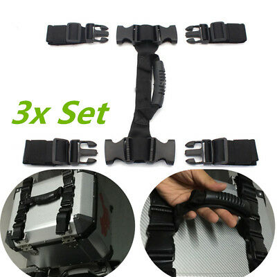 Universal Top Side Box Handle Buckle Strap for BMW R1200GS F700GS F800GS 3x Sets