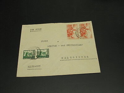 Morocco 1950s airmail cover to Germany *2792