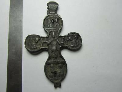 Elijah the prophet  Engolpion reliquary. Metal detector finds 100% original