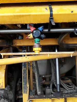 chafer sprayer dribble bars liquid fert