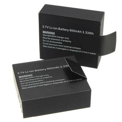 3.7V 900mAh Rechargable Li-ion Camera Battery For SJCAM SJ4000 SJ5000 SJ6000
