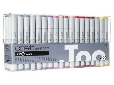 Copic SKETCH Marker Pen 72 Color Markers Set B EMS Christmas Gift
