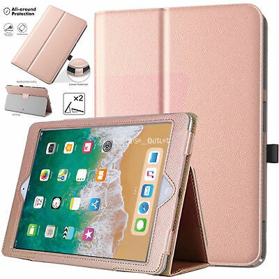New Genuine Smart Magnetic Leather Stand Case Cover for All Apple iPad Models