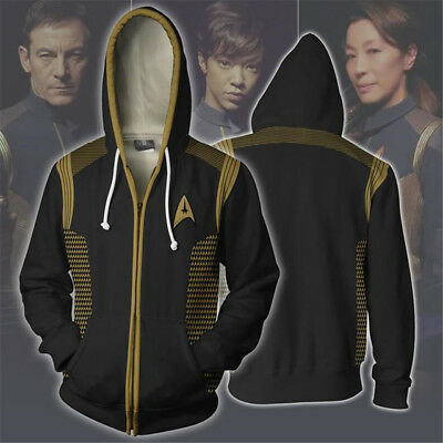Star Trek II: The Wrath of Khan Cosplay Costume 3D Printed Sweatshirt Jackets HH
