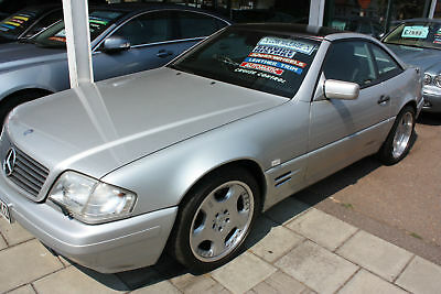 Mercedes-Benz SL320 R129 1998 Silver Pan roof low mileage