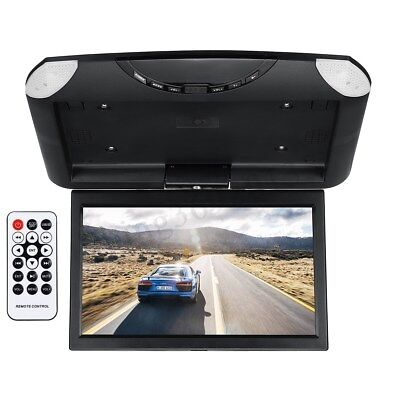 10.1'' Wide Screen LCD TFT Car Roof Mount Monitor Flip Down Digital MP5 Player
