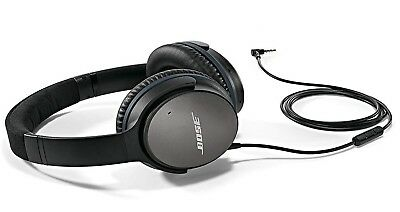 Bose QuietComfort 25 Noise Cancelling Headphones for Apple iPod iPhone iPad, New