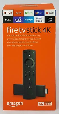 Amazon Fire TV Stick 4K mit Alexa-Sprachfernbedienung, Streaming Stick - Neu OVP
