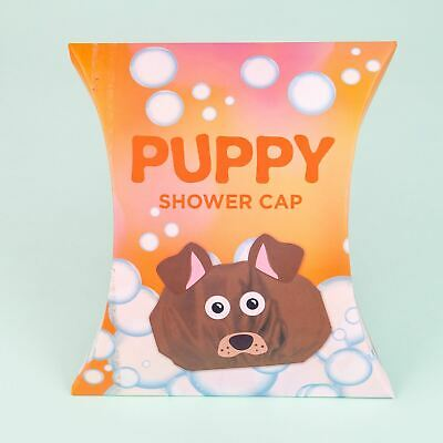 Puppy Shower Novelty Shower Cap
