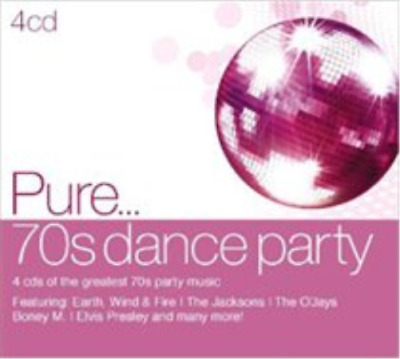 Various Artists-Pure... 70s Dance Party (US IMPORT) CD / Box Set NEW