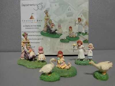 Dept 56 Seasons Bay - A Stroll In The Park
